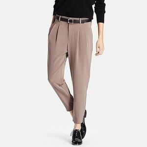 UNIQLO drape jogger pants